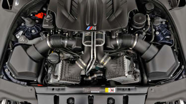 2012 BMW M6 Convertible twin-turbo V8 engine
