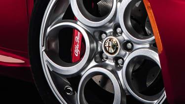 Alfa Romeo 4C alloy wheel