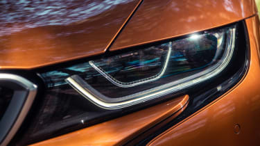 BMW i8 Roadster headlight detail
