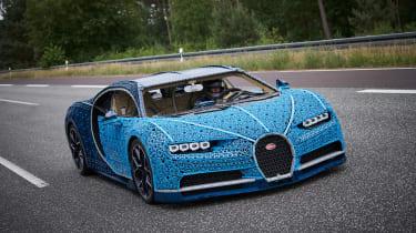 Bugatti Chiron lego - nose