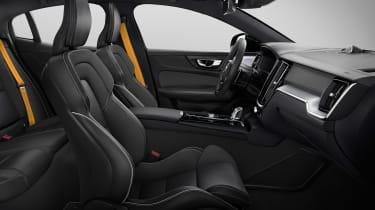 Volvo S60 saloon - seats