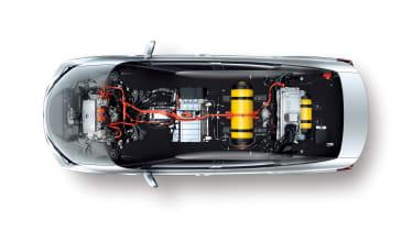Hydrogen cars – cutaway