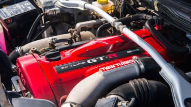 Nissan GT-R R34 - engine