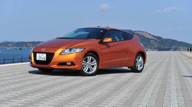 Honda CR-Z hybrid sports coupe review