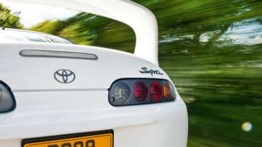 A80 Toyota Supra rear