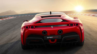 Ferrari SF90 Stradale - rear