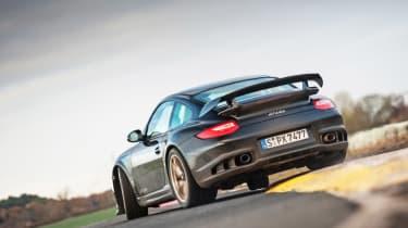 Porsche 911 GT2 RS & Mercedes-Benz SLS AMG Black Series - rear slide
