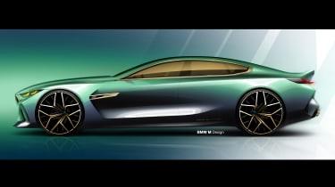 BMW M8 Concept - sketch