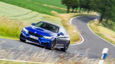 BMW M4 CS - cornering