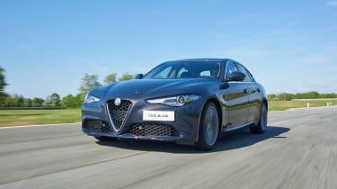 Alfa Romeo Giulia - front driving