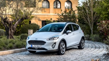 Ford Fiesta Active – front quarter
