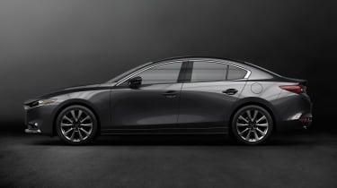 Mazda 3 saloon revealed - side