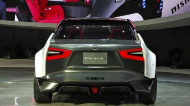 Nissan IDx Nismo concept rear black