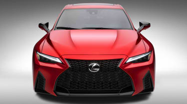 Lexus IS500 F Sport - nose