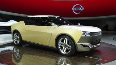 Nissan IDx Freeflow front yellow