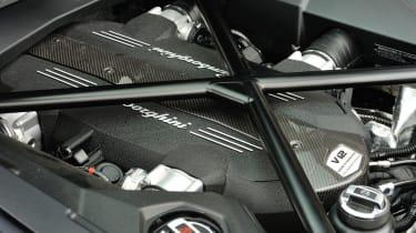 Lamborghini Aventador v12 engine