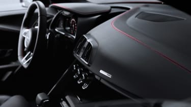 Audi R8 V10 Performance RWD – dash