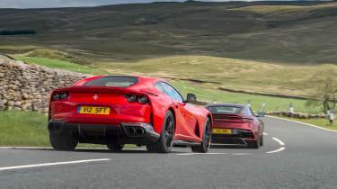 Aston Martin DBS Superleggera vs Ferrari 812 Superfast