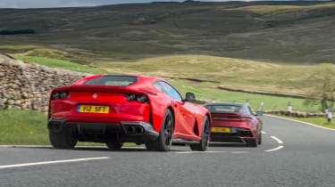 Aston Martin DBS Superleggera vs Ferrari 812 Superfast