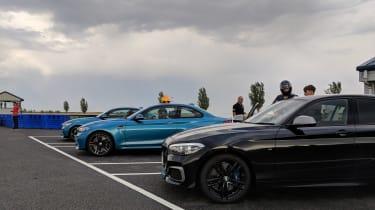 evo Trackday Bedford 27AUG - BMWs
