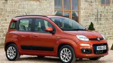 New 2012 Fiat Panda orange