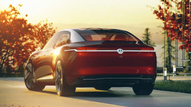 Volkswagen I.D. Vizzion – rear