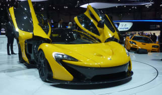 McLaren P1 and F1
