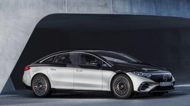 Mercedes-Benz EQS – front quarter