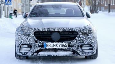 Mercedes-AMG E63 spy - front
