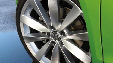 VW Scirocco wheel
