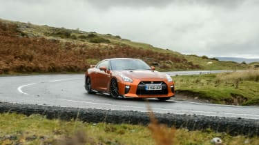 Nissan GT–R front