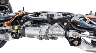 Rear-wheel steering for 2018 Porsche Cayenne