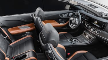 Mercedes-AMG E53 cabriolet – interior