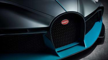 Bugatti Divo - grille