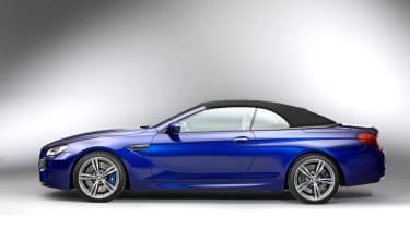 2012 BMW M6 convertible roof up