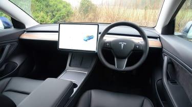 Tesla Model 3 MY21 - dash
