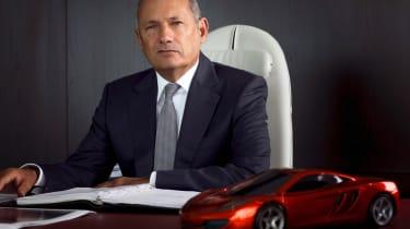 Ron Dennis re-appointed McLaren's CEO