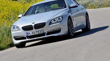 BMW 6-series Gran Coupe corner