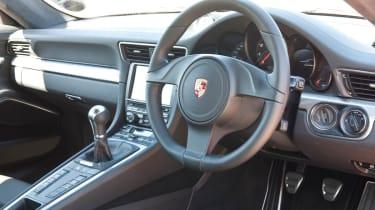 2012 Porsche 911 Carrera manual steering wheel