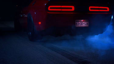 Dodge Demon skid