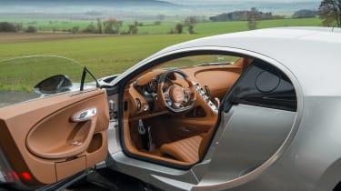 eCoty Bugatti Chiron - cabin
