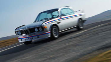 BMW 3.0 CSL front driving