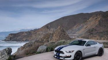 Shelby Mustang GT350 beach