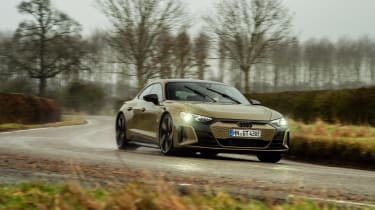 Audi RS e-tron GT evo - cornering