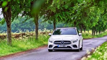 Mercedes A-class - front