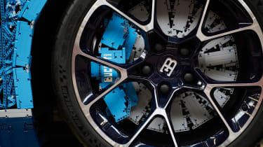 Bugatti Chiron lego - brakes