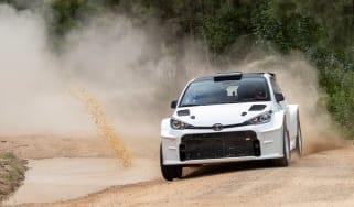 Toyota GR Yaris AP4 - cornering