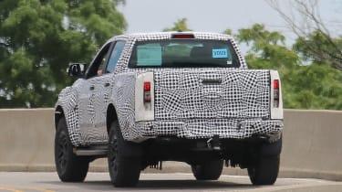 Ford Ranger Raptor spy - rear3