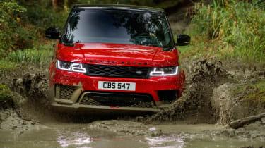 Range Rover Sport - front off-road