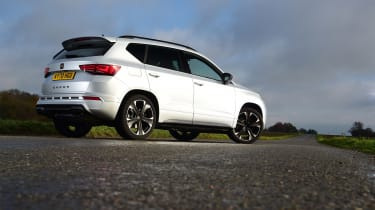 Cupra Ateca VZ1 2021 - rear quarter